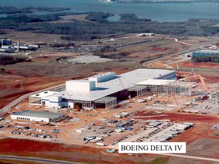 Boeing Delta IV Rocket Plant