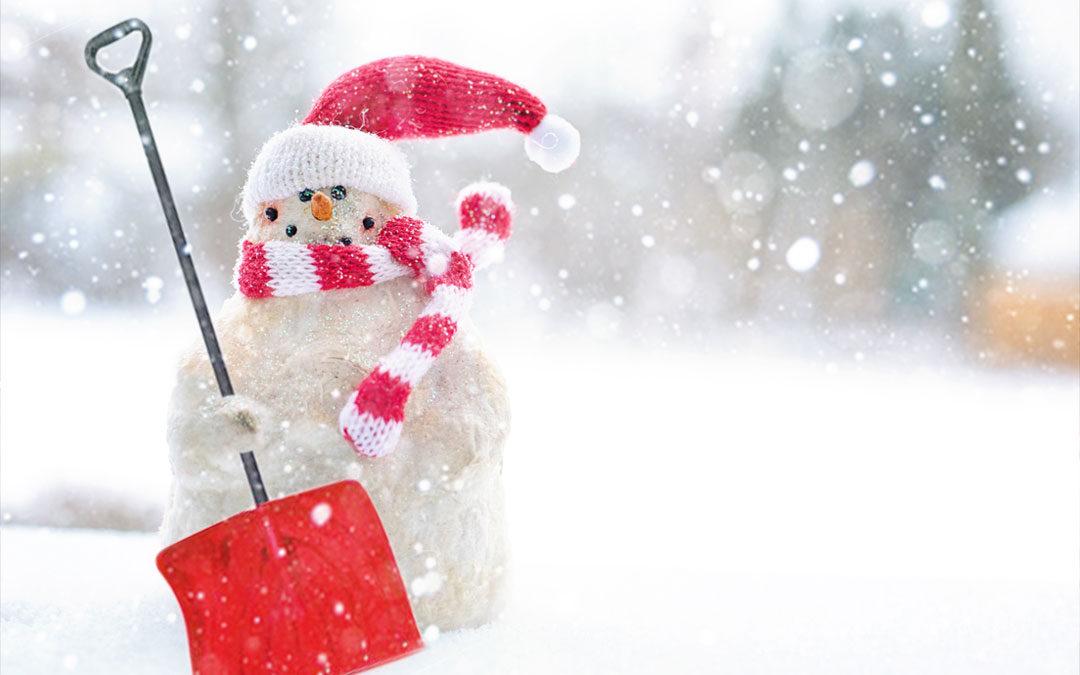 Sawhorse Advisory – Safe Snow Shoveling