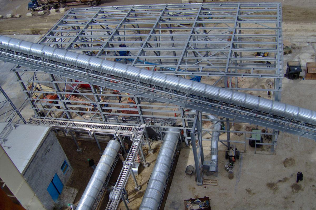 Biomass Boiler Project & Main Conveyor