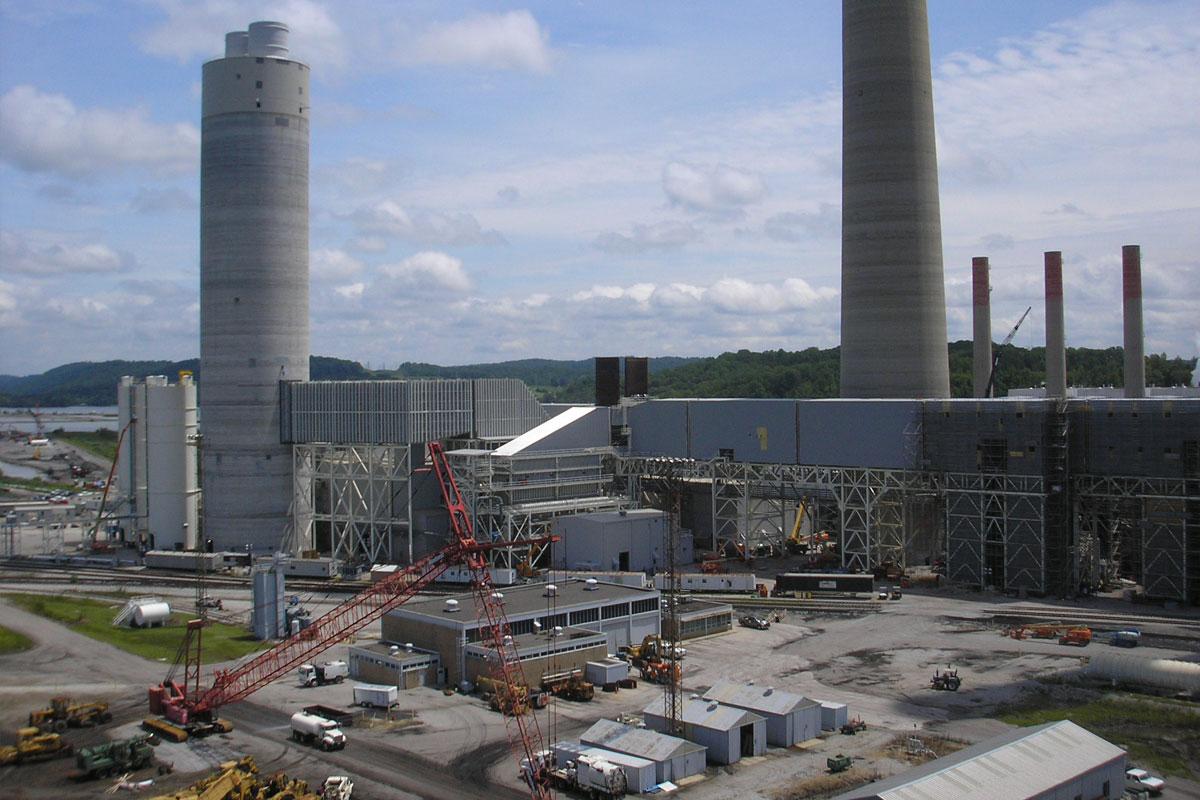 Kingston Dry Flue Gas Desulfurization Project