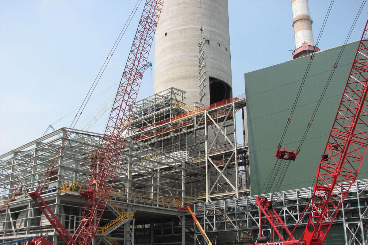 Flue Gas Desulfurization Retrofit Project